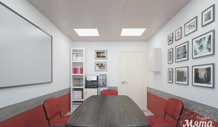 Дизайн интерьера и ремонт офиса по ул. Шаумяна 93 48