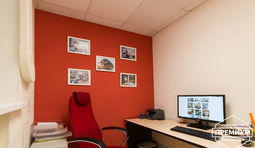 Дизайн интерьера и ремонт офиса по ул. Шаумяна 93 2