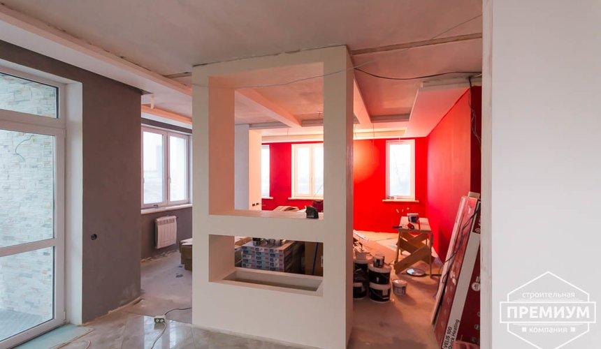 Дизайн интерьера и ремонт трехкомнатной квартиры по ул. Татищева 49 75