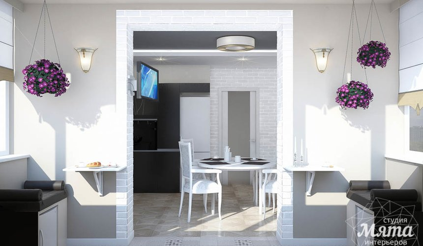 Дизайн интерьера трехкомнатной квартиры по ул. 8 Марта 194 13