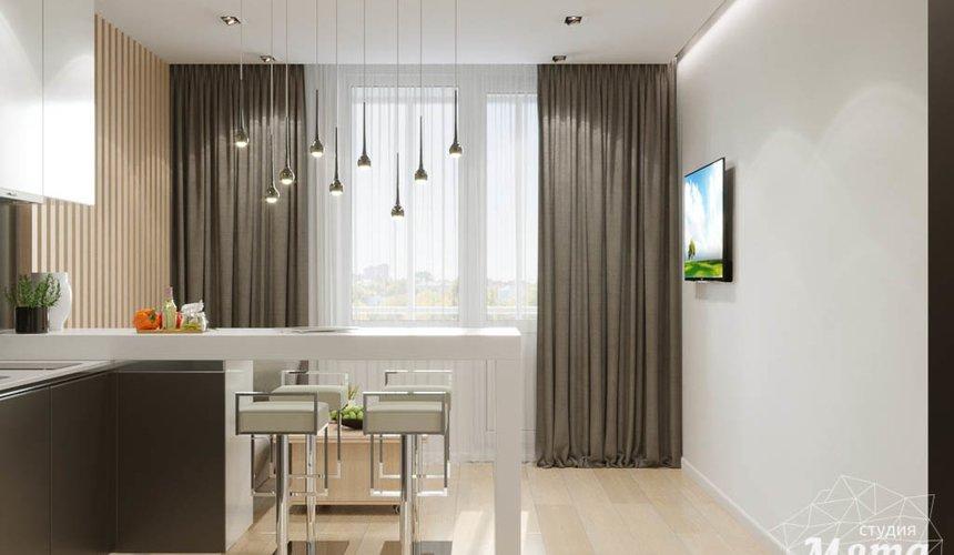 Дизайн интерьера однокомнатной квартиры по ул. Ак. Семихатова 18 3