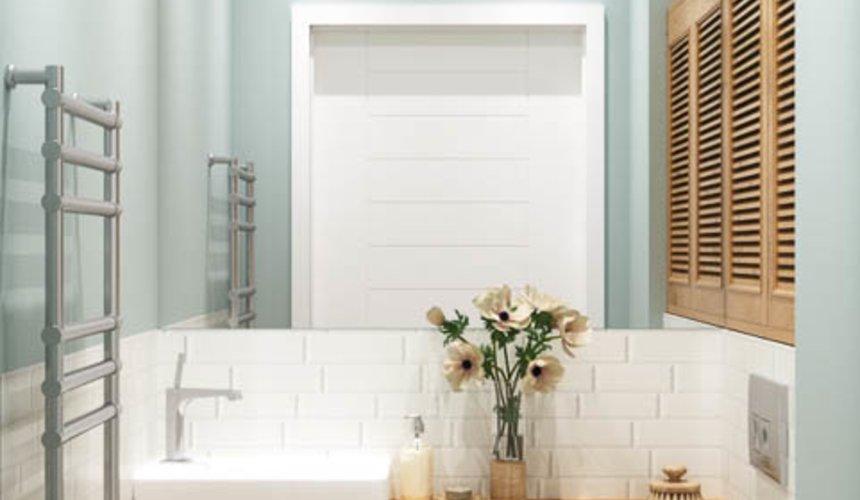 Дизайн интерьера ванной комнаты и санузла по ул. Орденоносцев 6 7