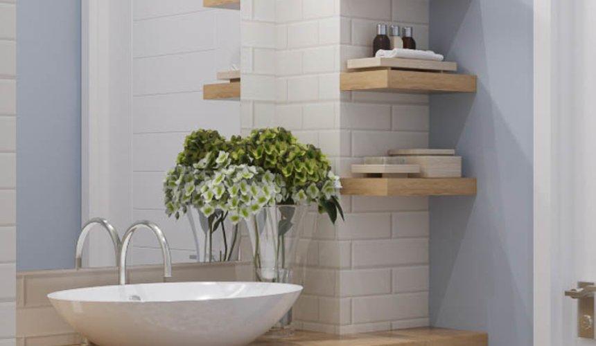 Дизайн интерьера ванной комнаты и санузла по ул. Орденоносцев 6 4