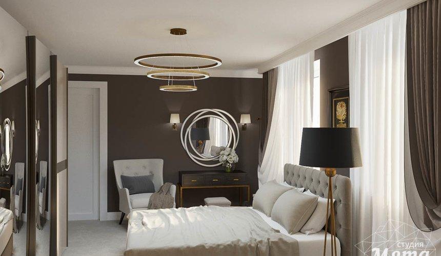 Дизайн интерьера спальни в ЖК Малевич 5