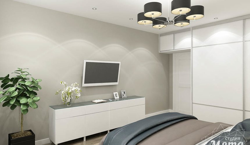 Дизайн интерьера двухкомнатной квартиры в ЖК Крылов 17