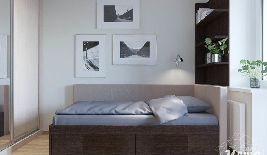Дизайн интерьера трехкомнатной квартиры по ул. Куйбышева 102 13