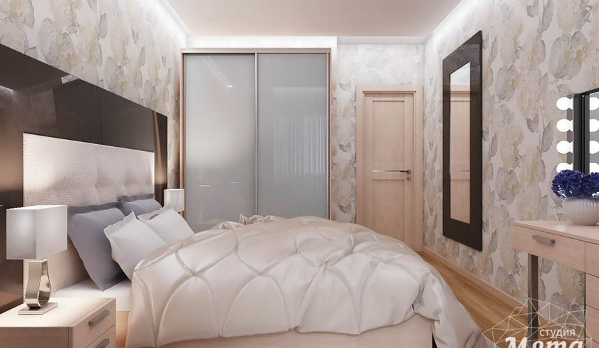 Дизайн интерьера трехкомнатной квартиры по ул. Куйбышева 102 16