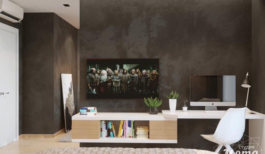 Дизайн интерьера однокомнатной квартиры в ЖК Чемпион Парк 12