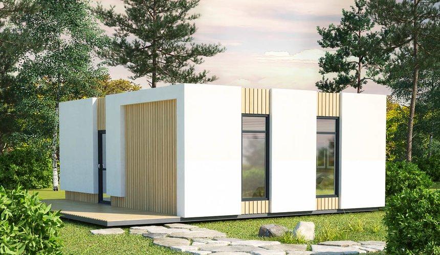 Дизайн фасада модульного дома в п. Новое Созвездие 3
