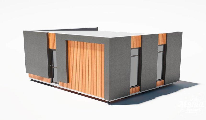 Дизайн фасада модульного дома в п. Новое Созвездие 6