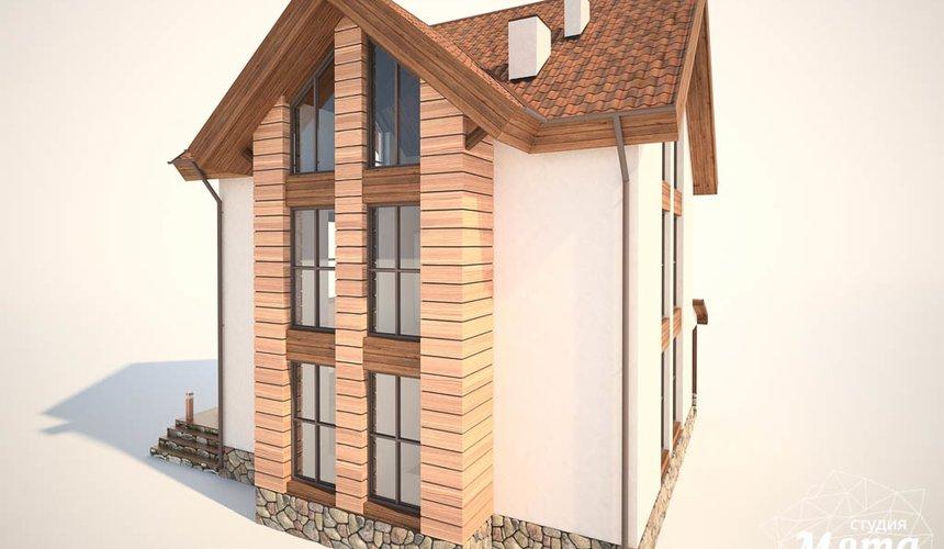 Дизайн фасада коттеджа в Хрустальном 6