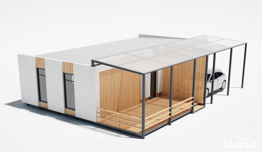 Дизайн фасада модульного дома в п. Новое Созвездие 11