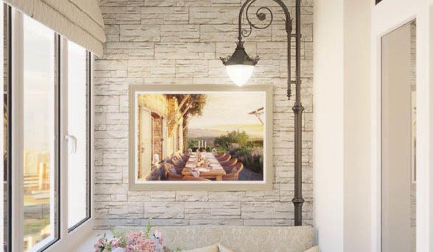 Дизайн интерьера квартиры - студии в ЖК Свой Круг 7
