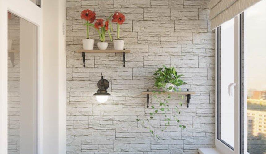 Дизайн интерьера квартиры - студии в ЖК Свой Круг 8