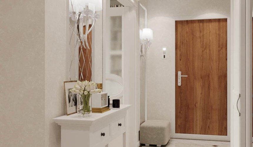 Дизайн интерьера однокомнатной квартиры в ЖК Солнечный Остров 12