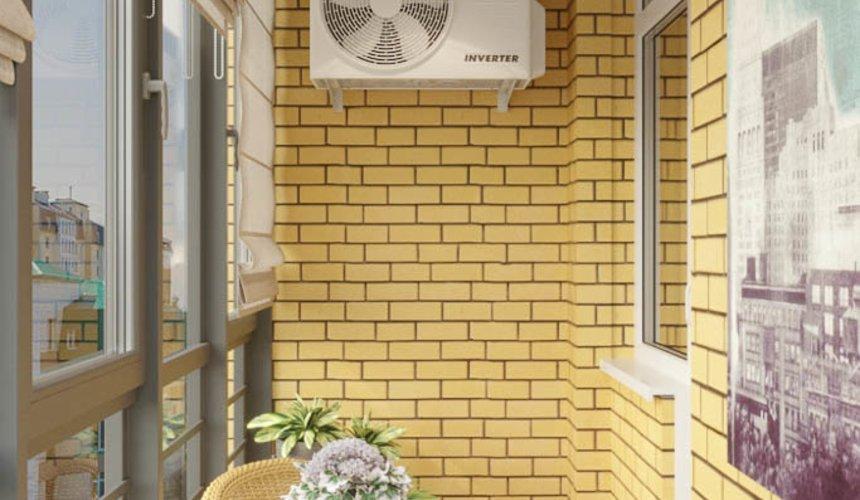 Дизайн интерьера однокомнатной квартиры в ЖК Солнечный Остров 18