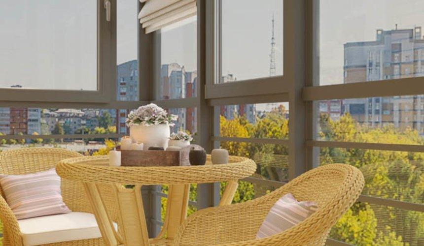 Дизайн интерьера однокомнатной квартиры в ЖК Солнечный Остров 19