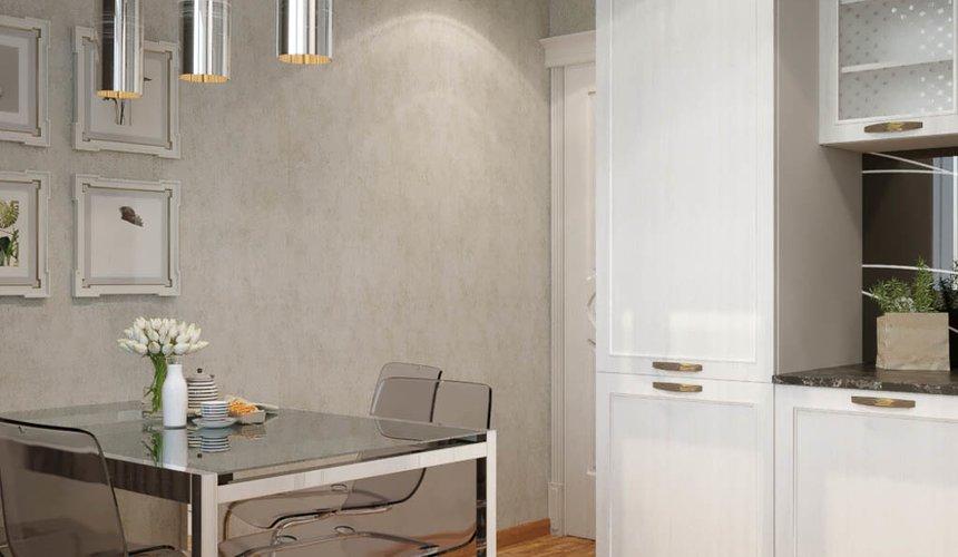 Дизайн интерьера однокомнатной квартиры в ЖК Солнечный Остров 7