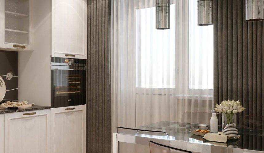 Дизайн интерьера однокомнатной квартиры в ЖК Солнечный Остров 9