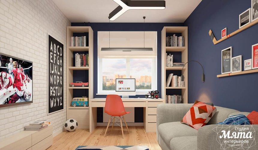 Дизайн интерьера детской комнаты в ЖК Антарес 3