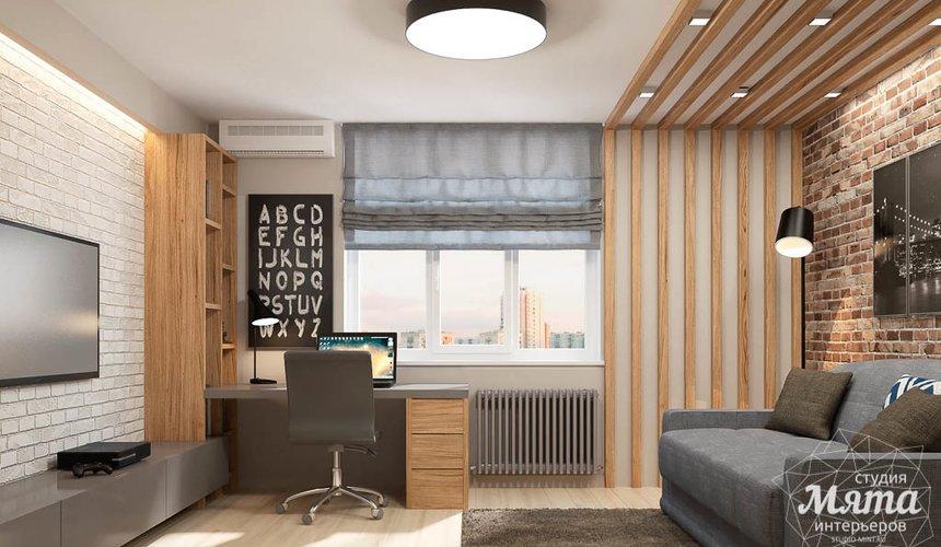 Дизайн интерьера трехкомнатной квартиры в ЖК Малевич 10