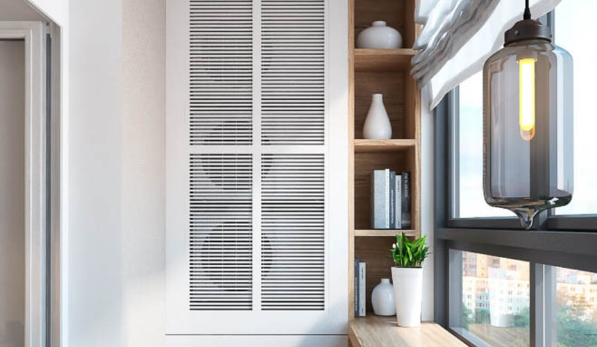 Дизайн интерьера трехкомнатной квартиры в ЖК Малевич 26