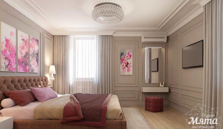 Дизайн интерьера трехкомнатной квартиры в ЖК Малевич 17