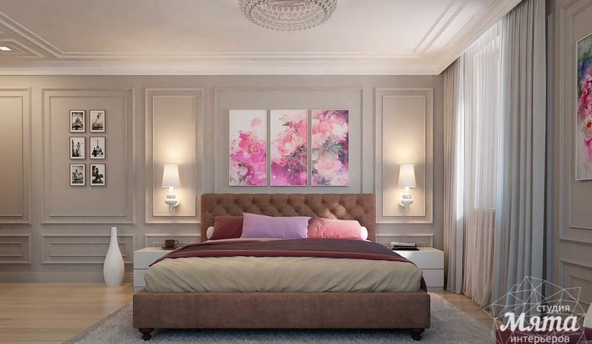 Дизайн интерьера трехкомнатной квартиры в ЖК Малевич 18