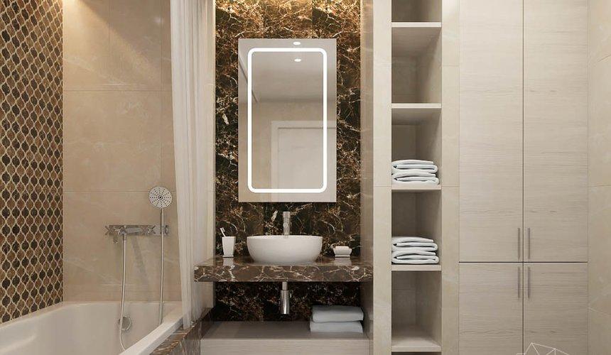 Дизайн интерьера трехкомнатной квартиры в ЖК Малевич 22