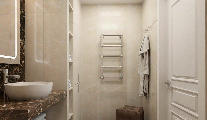 Дизайн интерьера трехкомнатной квартиры в ЖК Малевич 23