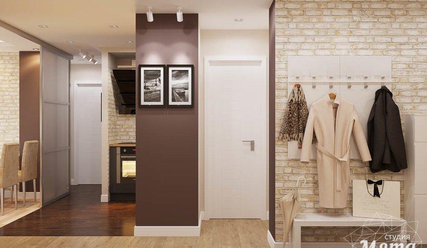 Дизайн интерьера трехкомнатной квартиры по ул. Фурманова 103 10