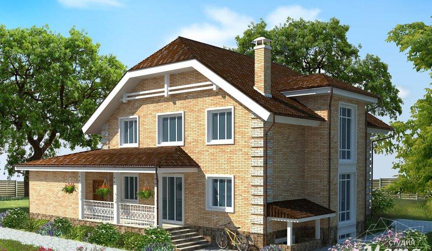 Дизайн-проект фасада коттеджа 400 м2 в КП Расторгуев 1