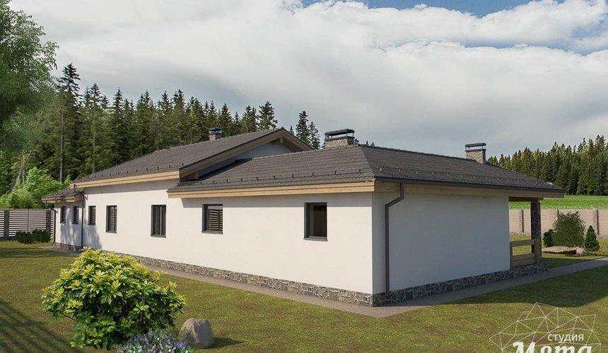 Дизайн-проект фасада коттеджа 240 м2 в КП Мельница 3