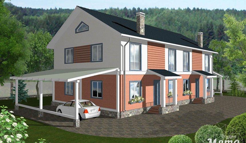Дизайн-проект фасада коттеджа 335 м2 в КП Лукоморье 1