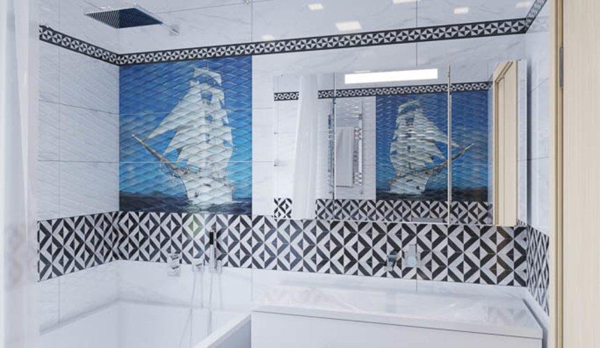 Дизайн интерьера ванных комнат для коттеджа в г. Салехард 12