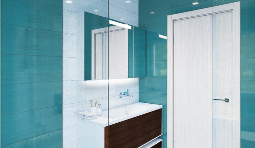 Дизайн интерьера ванных комнат для коттеджа в г. Салехард 7