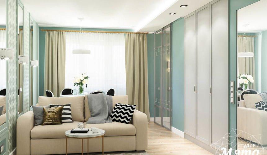 Дизайн интерьера однокомнатной квартиры пер. Встречный д. 5 8