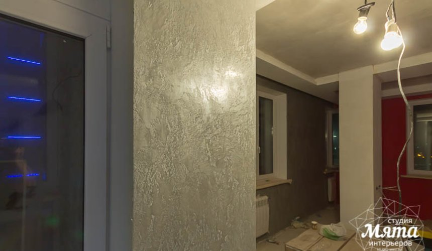 Дизайн интерьера и ремонт трехкомнатной квартиры по ул. Татищева 49 82