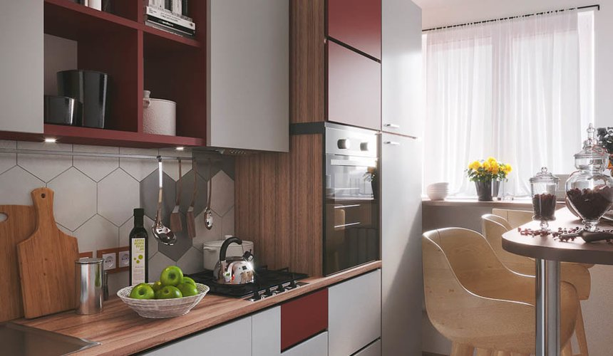 Дизайн интерьера однокомнатной квартиры по ул. Металлургов 14 6