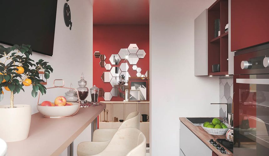 Дизайн интерьера однокомнатной квартиры по ул. Металлургов 14 7