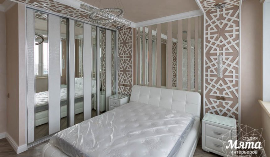 Дизайн интерьера и ремонт трехкомнатной квартиры по ул. Татищева 49 32