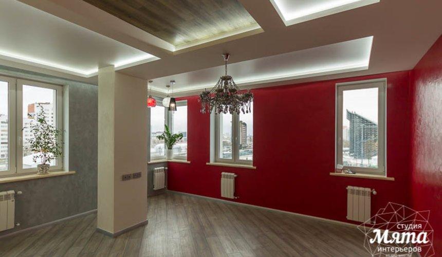 Дизайн интерьера и ремонт трехкомнатной квартиры по ул. Татищева 49 24