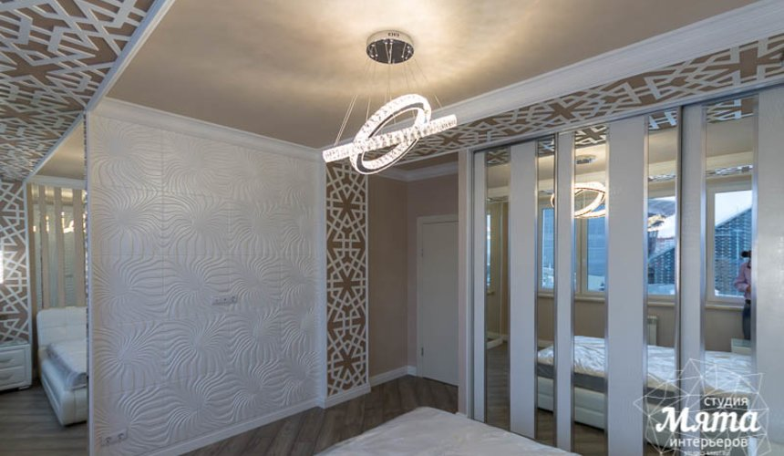 Дизайн интерьера и ремонт трехкомнатной квартиры по ул. Татищева 49 42