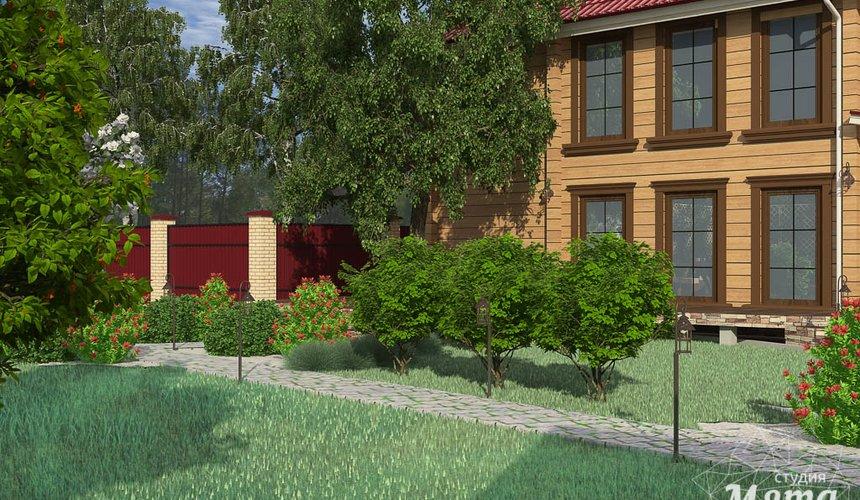 Дизайн фасада дома 532 м2 и бани 152 м2 г. Арамиль 20