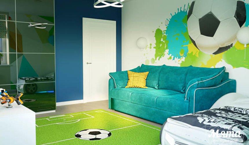 Дизайн интерьера четырехкомнатной квартиры по ул. Блюхера 41 21