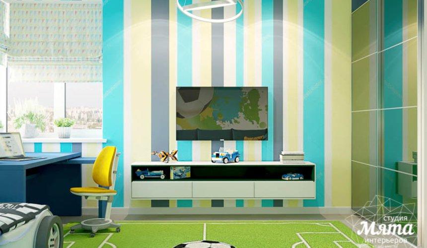 Дизайн интерьера четырехкомнатной квартиры по ул. Блюхера 41 22