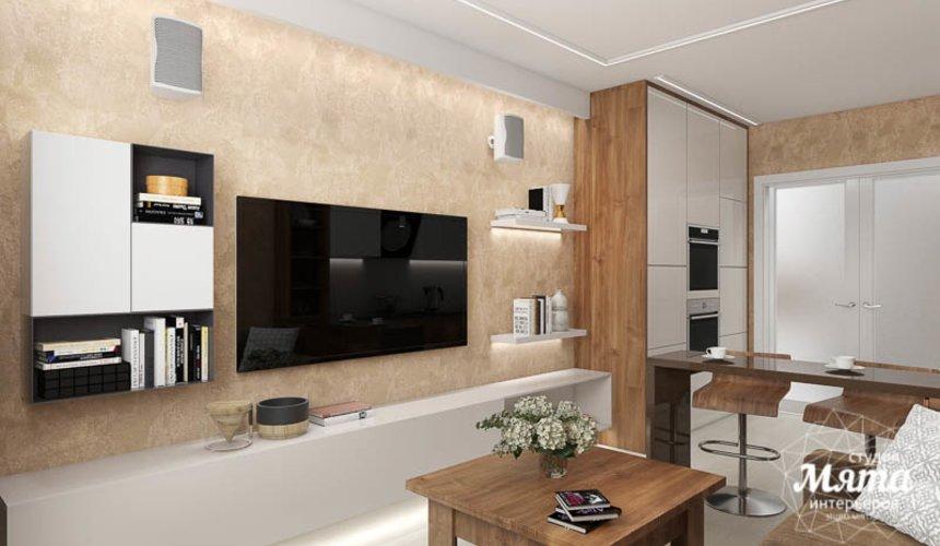 Дизайн интерьера двухкомнатной квартиры в ЖК Первый Николаевский 3