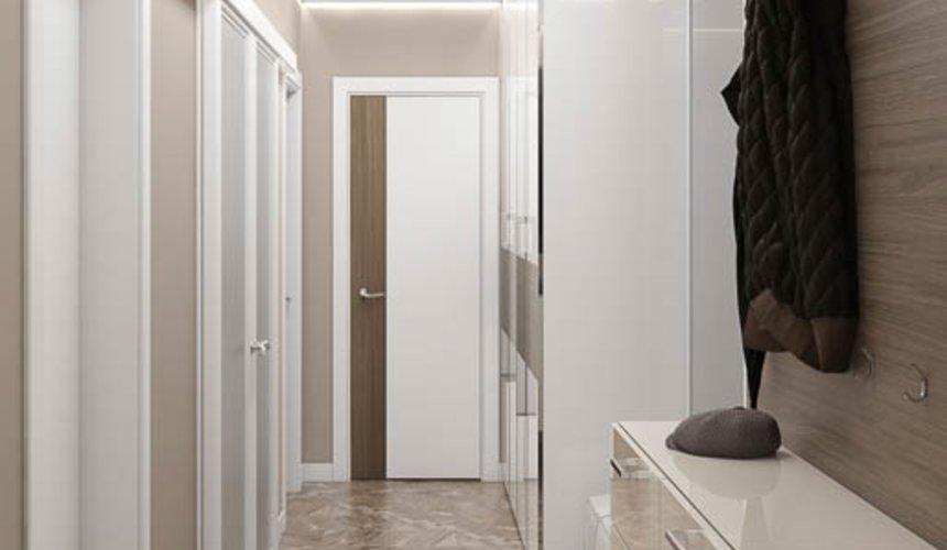 Дизайн интерьера двухкомнатной квартиры в ЖК Первый Николаевский 9