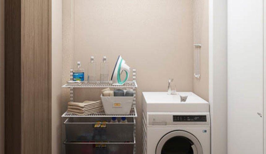 Дизайн интерьера двухкомнатной квартиры в ЖК Первый Николаевский 15