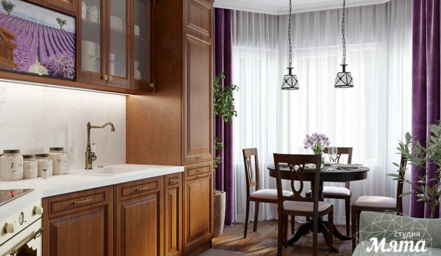 Дизайн интерьера кухни в коттедже п. Верхнее Дуброво 5